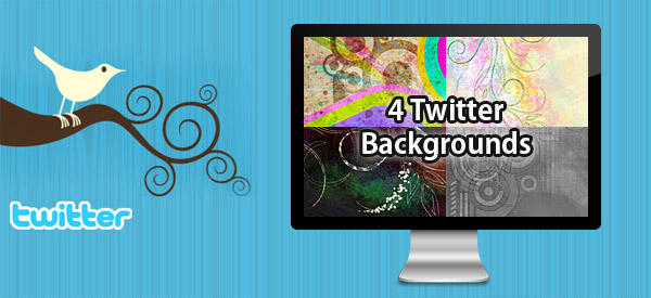 4 Fantastic Free Twitter Background Images Post Image