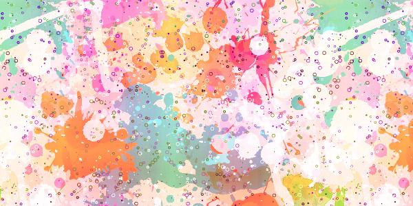 free seamless colored splatter texture patterns preview 7
