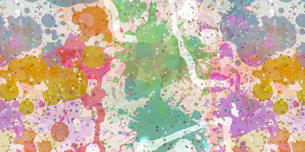 free seamless colored splatter texture patterns preview 9