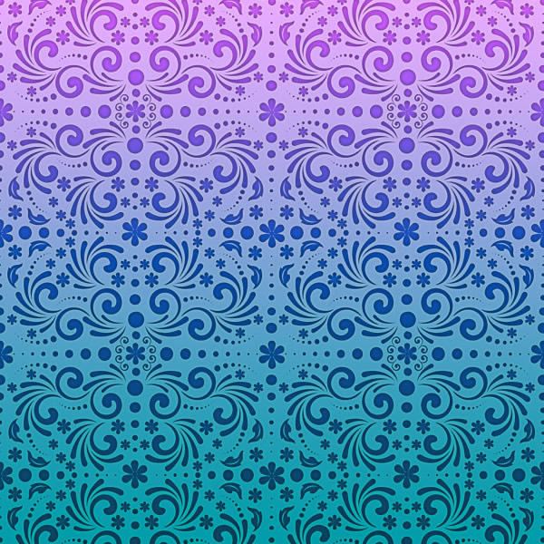 vector seamless spring pattern preview